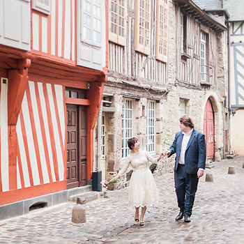 wedding photographer rennes old town